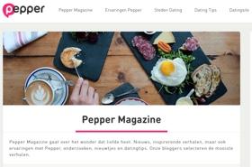 pepper.be magazine en blog