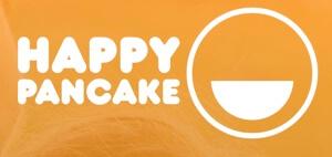logo happy pancake