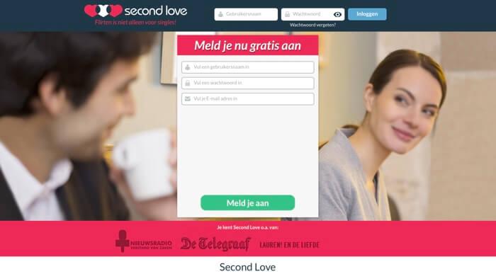 Second Love website