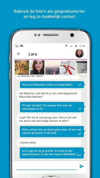 berichtenbox pepper.be app