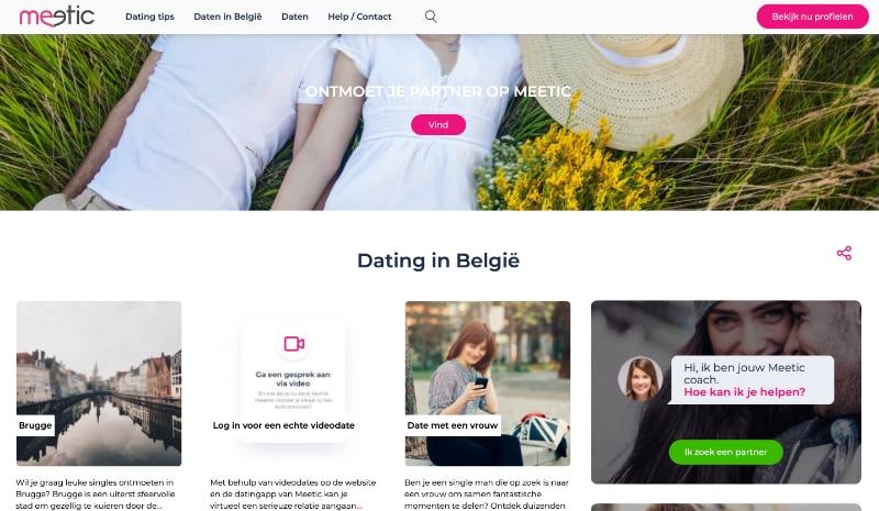 meetic.be website