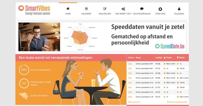 smartvibes.be website