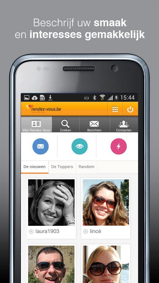 screenshot dating app
